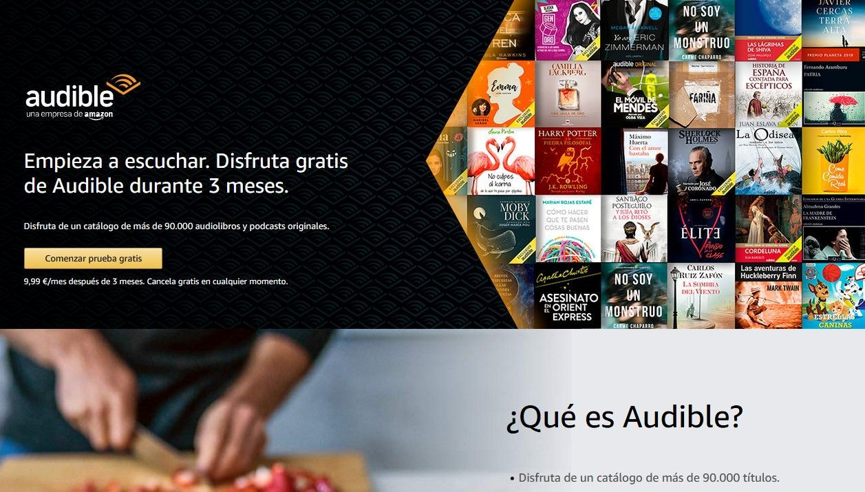 Audible, audiolibros